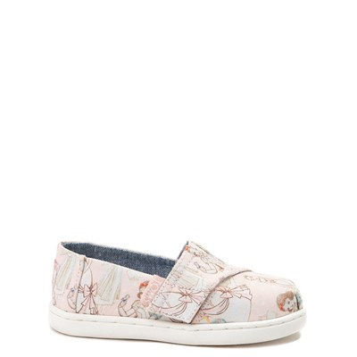 TOMS Disney Princess Classic Slip On Casual Shoe - Baby / Toddler / Little Kid