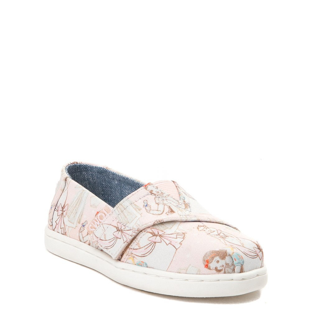 a68340bb153 TOMS Disney Princess Classic Slip On Casual Shoe - Baby   Toddler ...