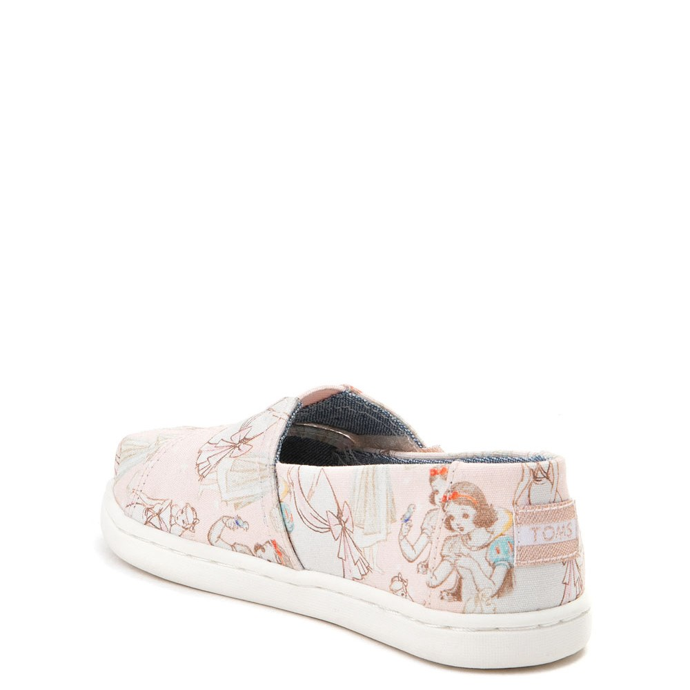 dd8bc9df2a8 TOMS Disney Princess Classic Slip On Casual Shoe - Baby   Toddler ...