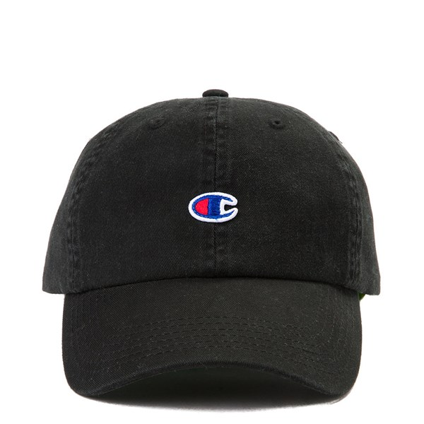 Main view of Champion Dad Hat - Black