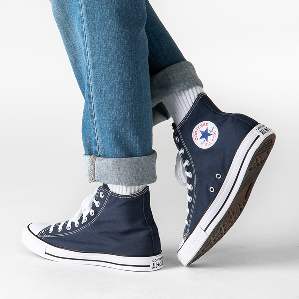 alternate view Converse Chuck Taylor All Star Hi Sneaker - NavyB-LIFESTYLE1