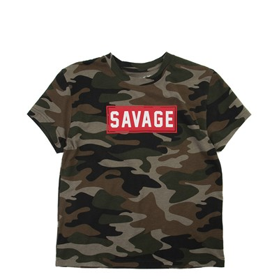 Alternate view of Camo Savage Tee - Little Kid