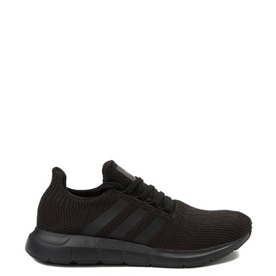 Main view of Mens adidas Swift Run Athletic Shoe - Black Monochrome
