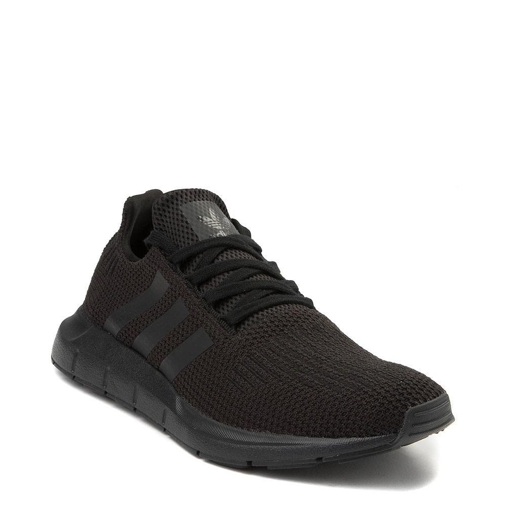 black adidas running shoes