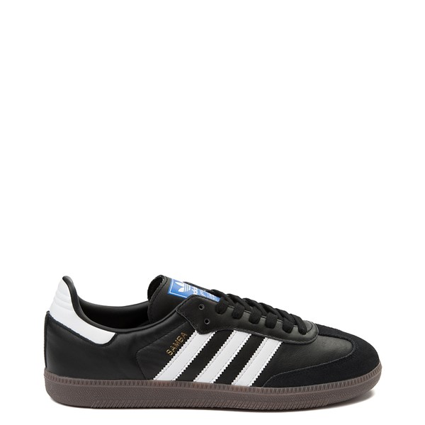 Main view of Mens adidas Samba OG Athletic Shoe - Black / White / Gum