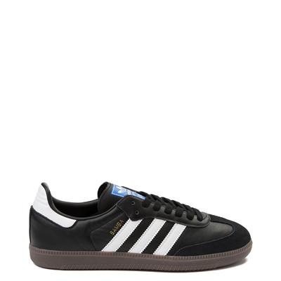 Main view of Mens adidas Samba OG Athletic Shoe - Black / White / Gum