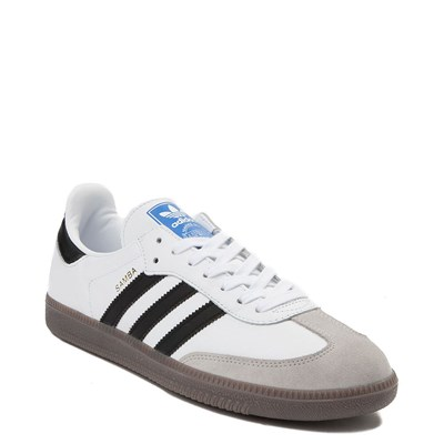 Alternate view of Mens adidas Samba OG Athletic Shoe - White / Black