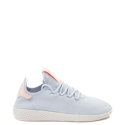 Main view of Womens adidas Pharrell Williams Tennis Hu Athletic Shoe - Light Blue / Chalk