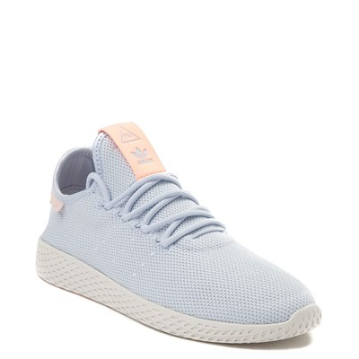 Alternate view of Womens adidas Pharrell Williams Tennis Hu Athletic Shoe - Light Blue / Chalk