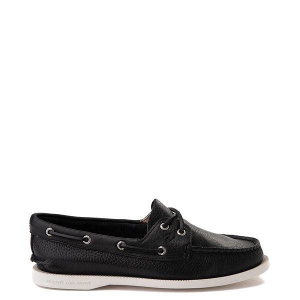Main view of Womens Sperry Top-Sider Authentic Original Boat Shoe - Black