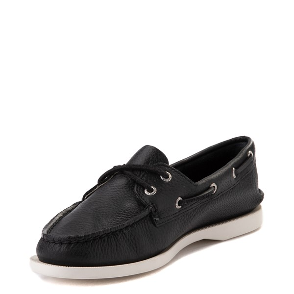 alternate view Womens Sperry Top-Sider Authentic Original Boat Shoe - BlackALT2