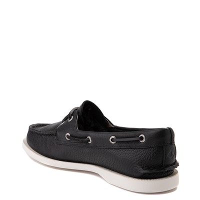 Alternate view of Womens Sperry Top-Sider Authentic Original Boat Shoe - Black