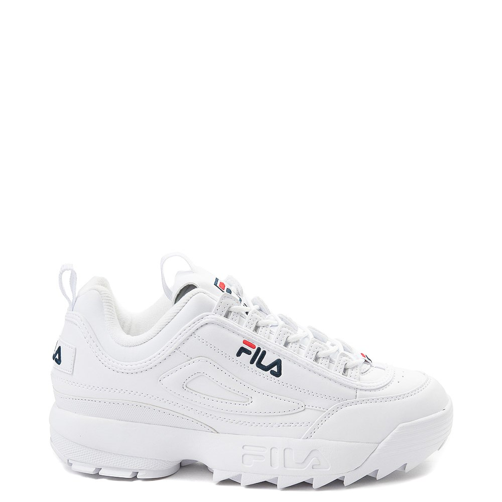 Mens Fila Disruptor 2 Premium Athletic Shoe White