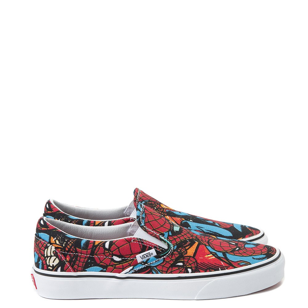 acfaef1674aec6 Vans Slip On Marvel Avengers Spider-Man Skate Shoe