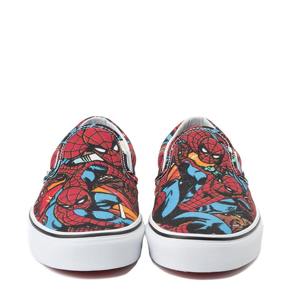 c514f5642d6d Vans Slip On Marvel Avengers Spider-Man Skate Shoe