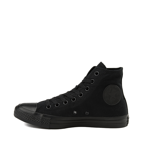 alternate view Converse Chuck Taylor All Star Hi Sneaker - Black MonochromeALT1