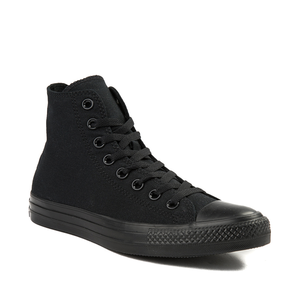 alternate view Converse Chuck Taylor All Star Hi Sneaker - Black MonochromeALT5