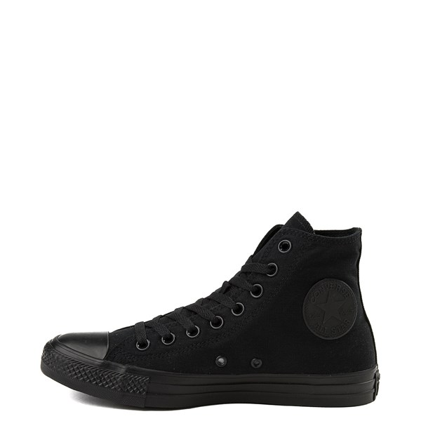 alternate view Converse Chuck Taylor All Star Hi Mono Sneaker - BlackALT1