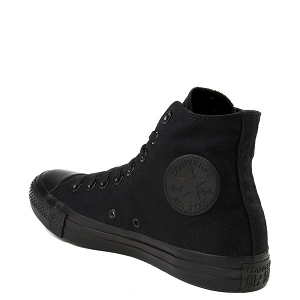 alternate view Converse Chuck Taylor All Star Hi Mono Sneaker - BlackALT2