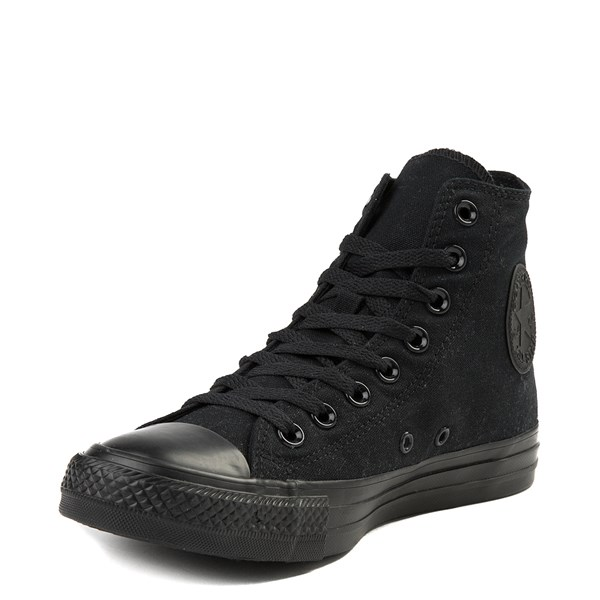 alternate view Converse Chuck Taylor All Star Hi Mono Sneaker - BlackALT3