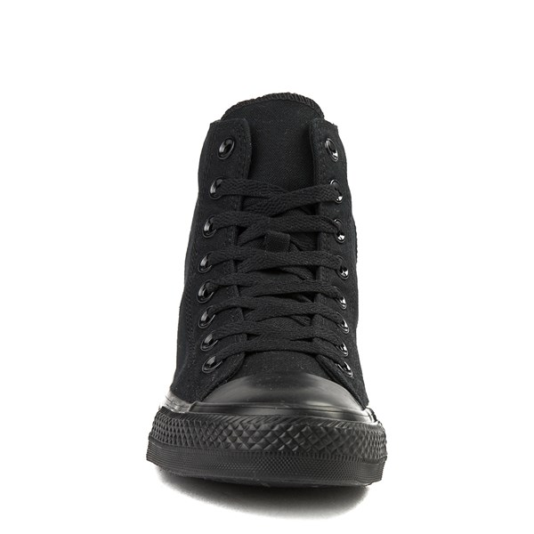 alternate view Converse Chuck Taylor All Star Hi Mono Sneaker - BlackALT4