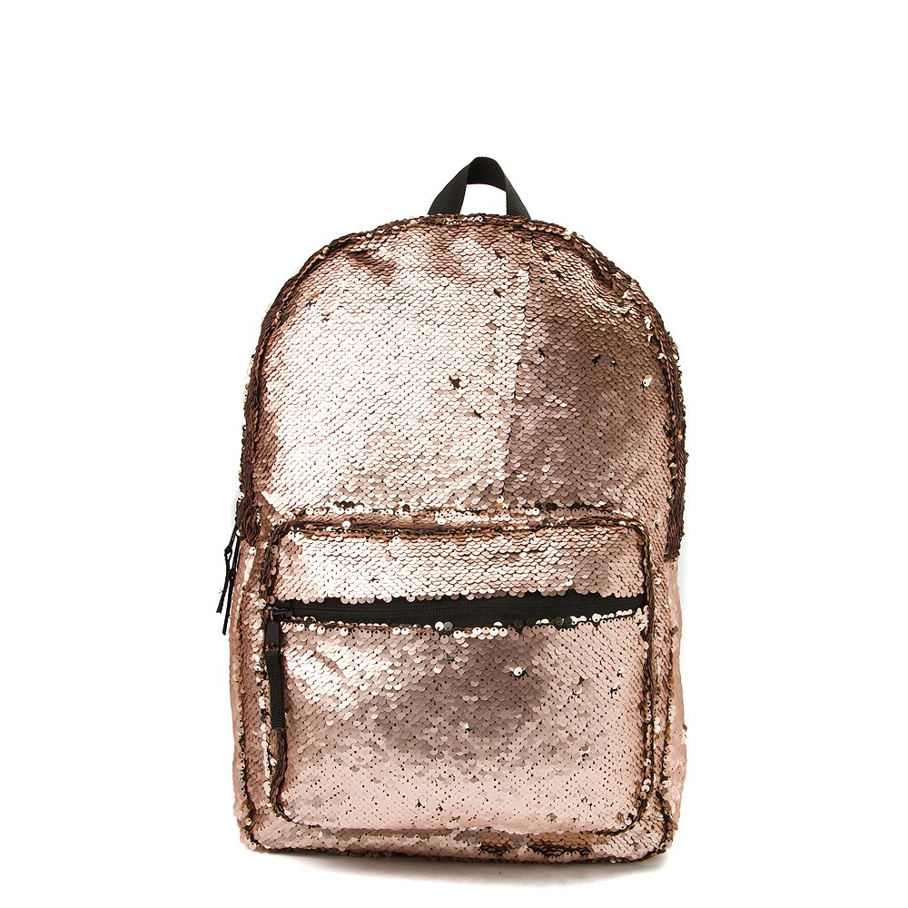 Two-Tone Sequin Backpack