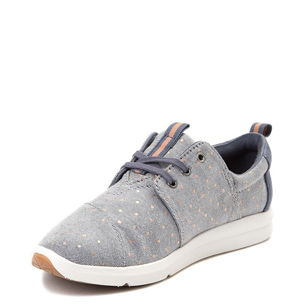 alternate view Womens TOMS Del Rey Casual ShoeALT3