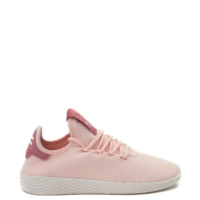 Main view of Womens adidas Pharrell Williams Tennis Hu Athletic Shoe - Pink / Chalk