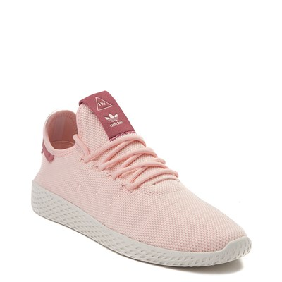 Alternate view of Womens adidas Pharrell Williams Tennis Hu Athletic Shoe - Pink / Chalk