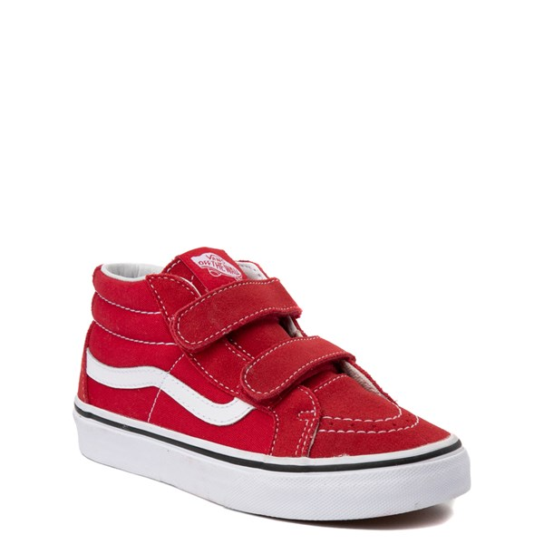 Alternate view of Vans Sk8 Mid Skate Shoe - Little Kid