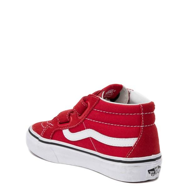 alternate view Vans Sk8 Mid Skate Shoe - Little KidALT2
