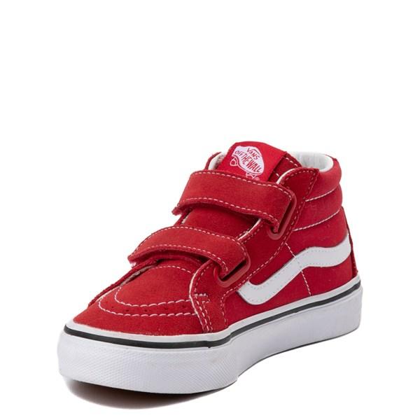 alternate view Vans Sk8 Mid Skate Shoe - Little KidALT3
