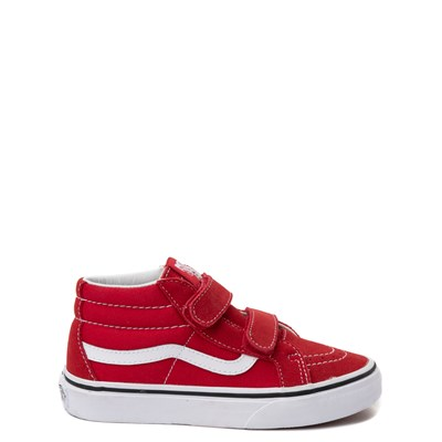 Main view of Vans Sk8 Mid Skate Shoe - Little Kid