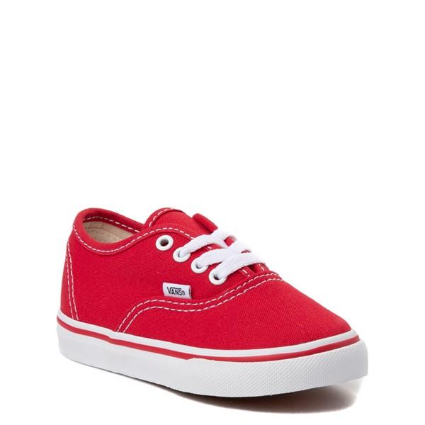alternate view Vans Authentic Skate Shoe - Baby / Toddler - RedALT5