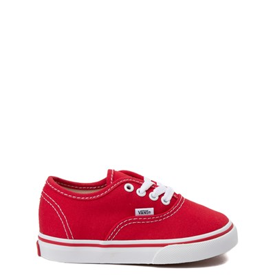 Main view of Vans Authentic Skate Shoe - Baby / Toddler - Red