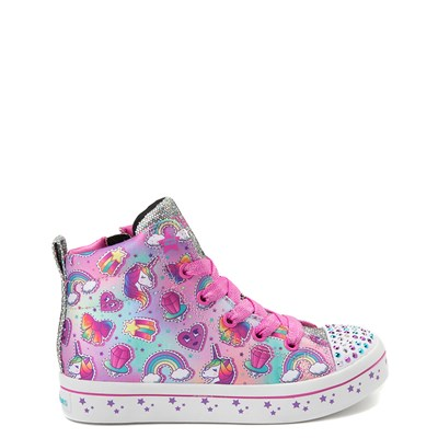 Youth Skechers Twinkle Toes Twilight Hi Sneaker