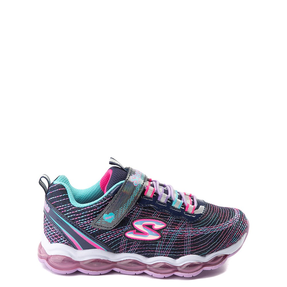 Skechers Glimmer Lights Sneaker - Little Kid