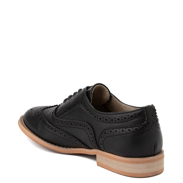 alternate view Womens Wanted Babe Oxford Casual Shoe - BlackALT2
