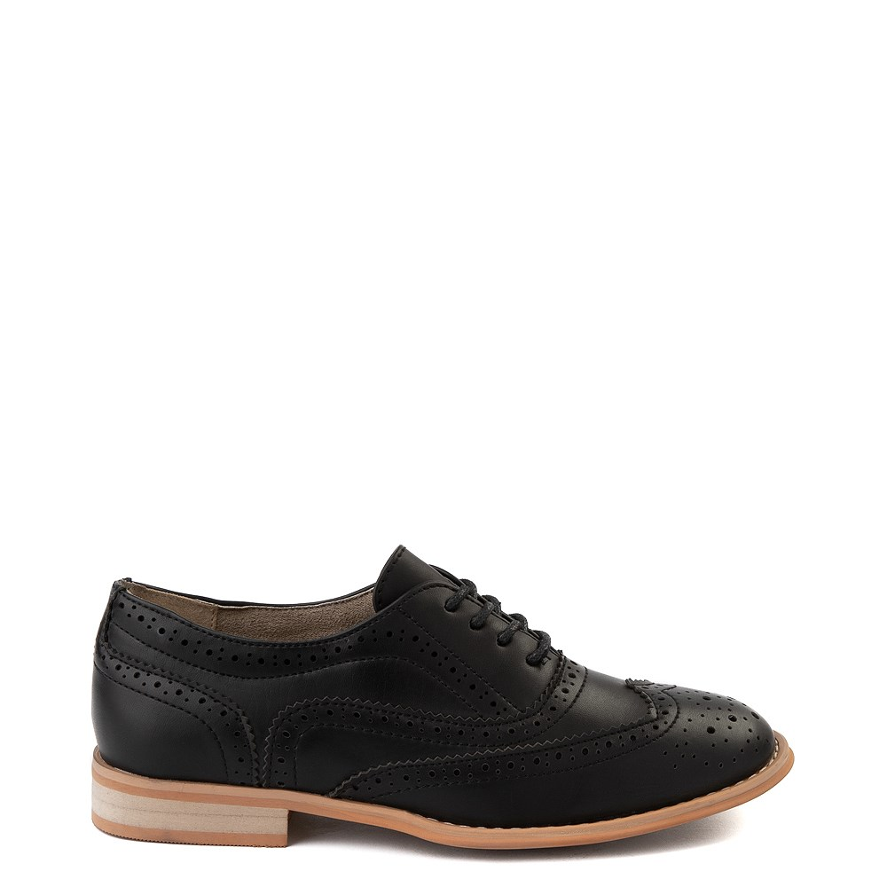 Womens Wanted Babe Oxford Casual Shoe - Black