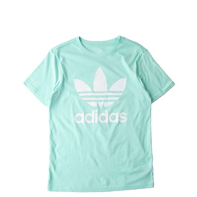Main view of adidas Trefoil Tee - Girls Little Kid