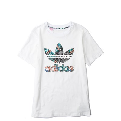 Alternate view of adidas Trefoil Tee - Girls Little Kid
