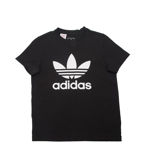 adidas Trefoil Tee - Little Kid / Big Kid - Black