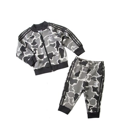 Main view of Infant adidas Superstar Camo Tracksuit