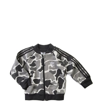 Alternate view of Infant adidas Superstar Camo Tracksuit