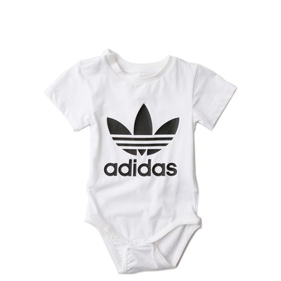 Alternate view of adidas Trefoil Snap Tee - Baby / Toddler
