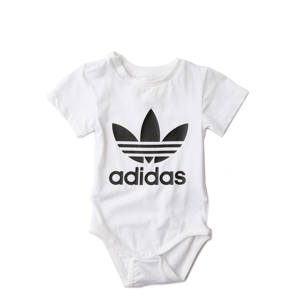 Infant/Toddler adidas Trefoil Snap Tee