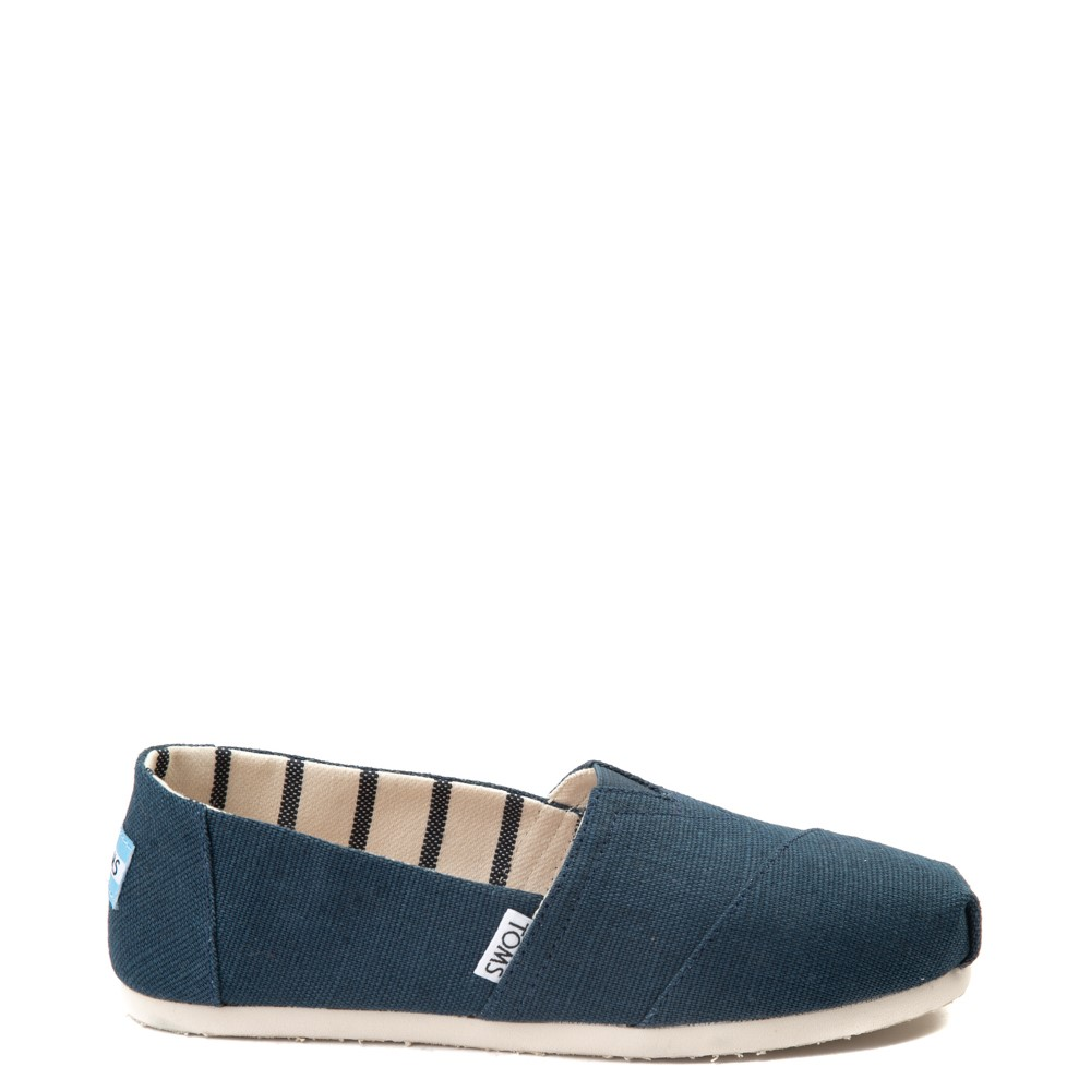 Womens TOMS Classic Slip On Casual Shoe - Blue