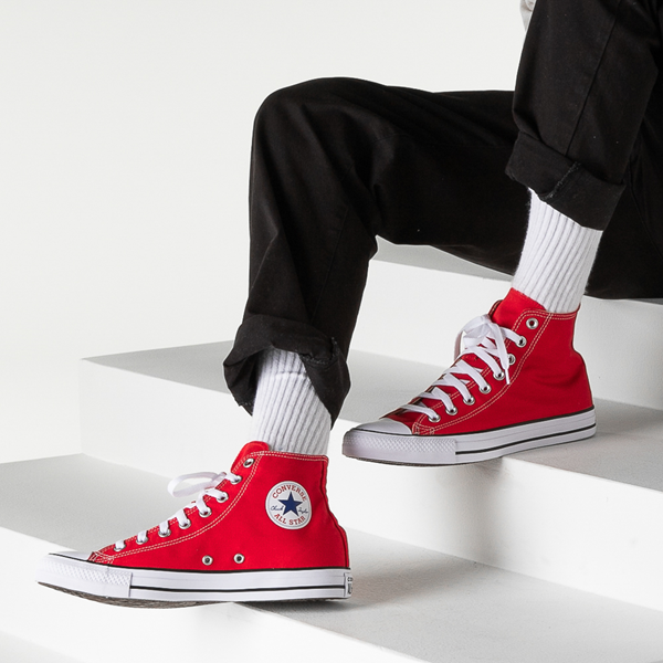 alternate view Converse Chuck Taylor All Star Hi Sneaker - RedB-LIFESTYLE1