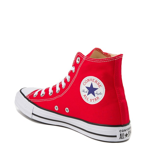 alternate view Converse Chuck Taylor All Star Hi Sneaker - RedALT2