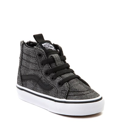 Alternate view of Toddler Vans Sk8 Hi Zip Skate Shoe